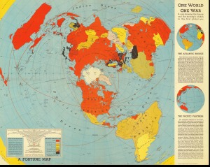 "Strange Map ""One World One War"""